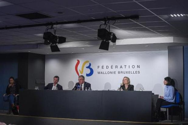 La Fédération Wallonie-Bruxelles annonce une série de mesures pour gérer l'épidémie
