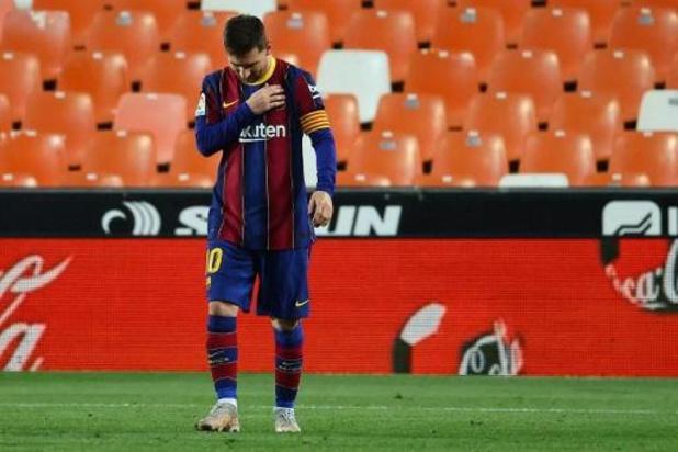 La Liga enquête après une possible infraction du protocole Covid-19 chez Messi