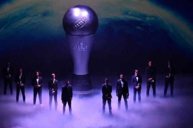 Messi beste speler, Eden Hazard in Wereldelftal van het Jaar