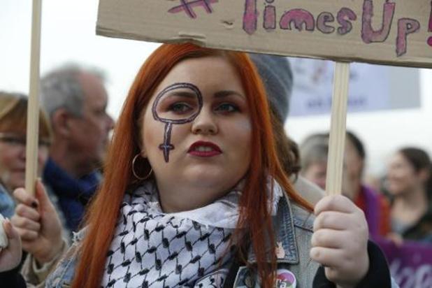 10.000 personnes marchent dans Bruxelles contre les violences faites aux femmes