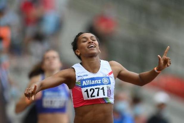 Naomi Van Den Broeck verrast met titel op 400 meter