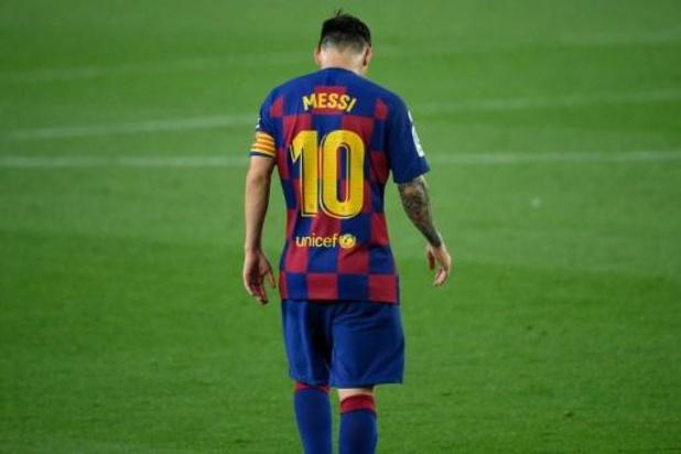 """La Liga - Lionel Messi is het kostbeu: """"Er moet iets veranderen"""""""