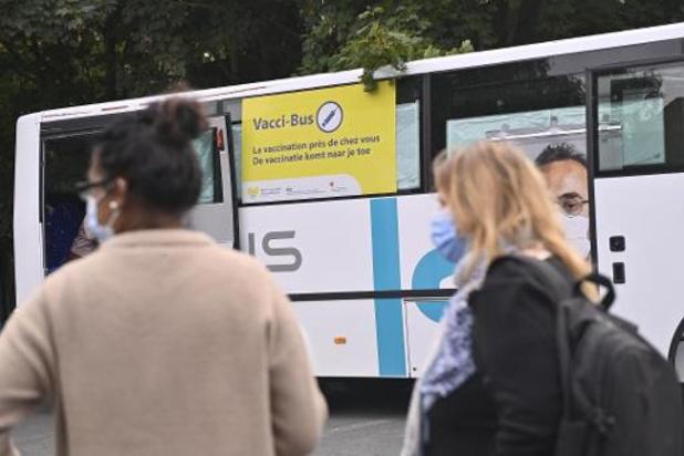 Deux nouvelles étapes pour la vaccination mobile en Wallonie