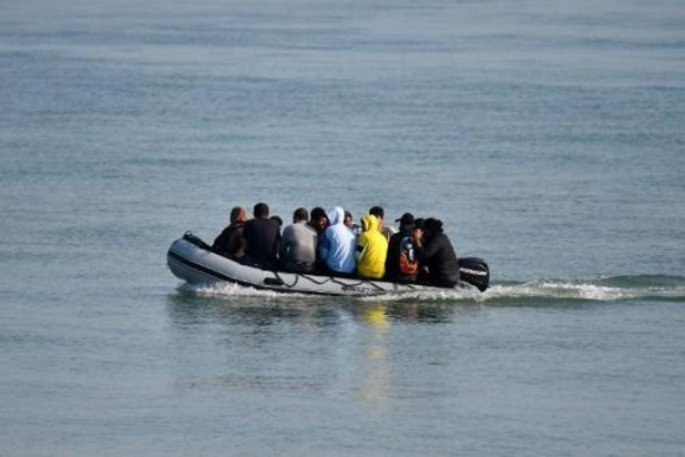 Franse marine redt 88 migranten voor kust van Boulogne-sur-Mer