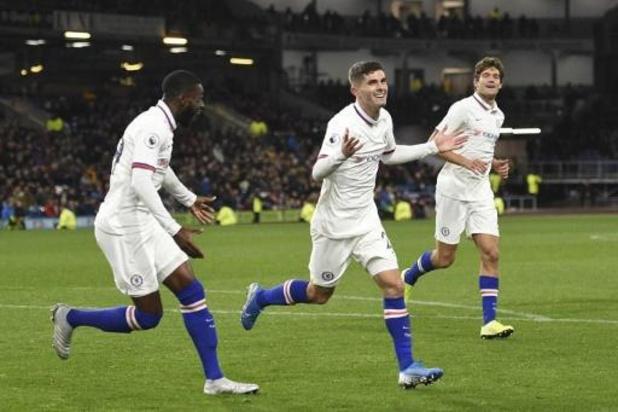 Les Belges à l'étranger - Pulisic mène Chelsea à Burnley, Batshuayi reste sur le banc