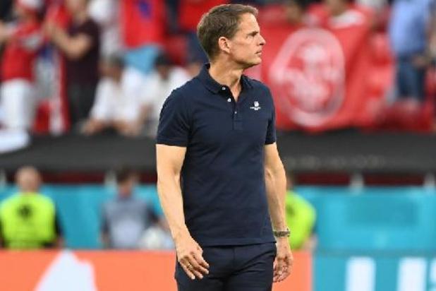 """Euro 2020 - Frank de Boer """"responsable"""" de l'élimination des Pays-Bas"""