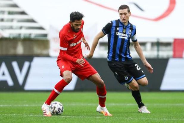 L'Antwerp et le Club Bruges déposent plainte après le tweet raciste contre Faris Haroun