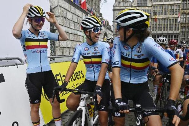 """Belgische vrouwen zagen """"afvallingskoers"""""""