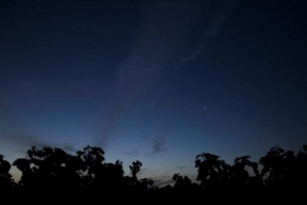 """Wetenschappers ontdekken """"mogelijk teken van leven"""" op Venus"""