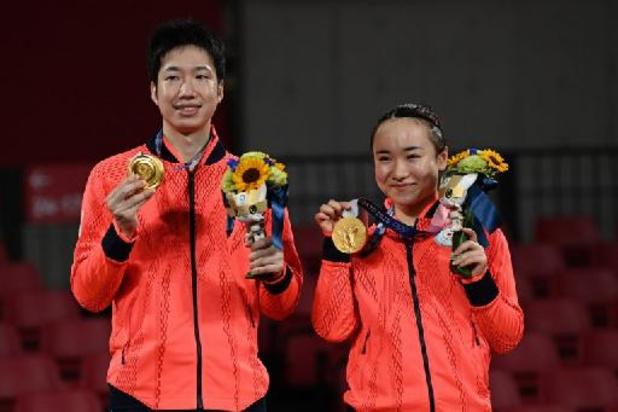 OS 2020: Japan verovert eerste gouden medaille in tafeltennis