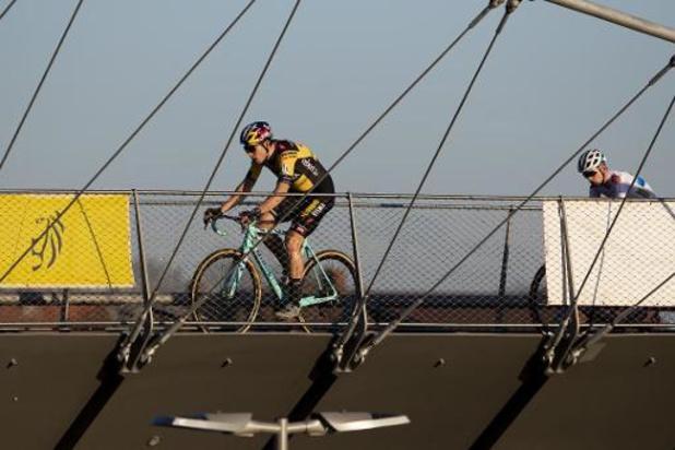 """X2O Badkamers Trofee veldrijden - Van Aert na derde plaats: """"Hier had ik vooraf voor getekend"""""""