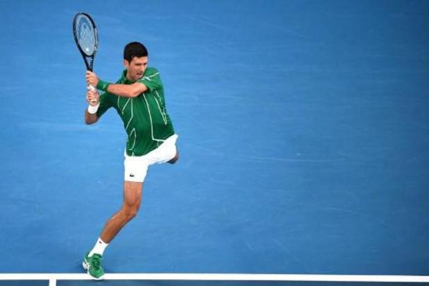 Djokovic se joue de Raonic et rejoint Federer en demi-finale de l'Open d'Australie