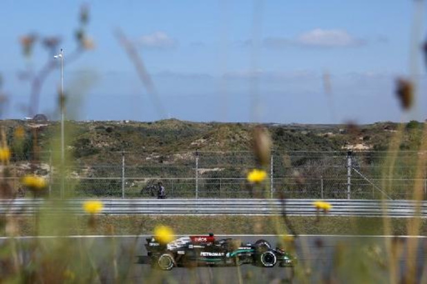 GP des Pays-Bas: Lewis Hamilton le plus rapide de la première séance d'essais libres