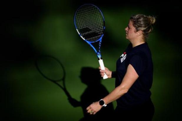 """Clijsters opent tegen Johanna Konta: """"Ik voel dat mijn niveau aan het stijgen is"""""""