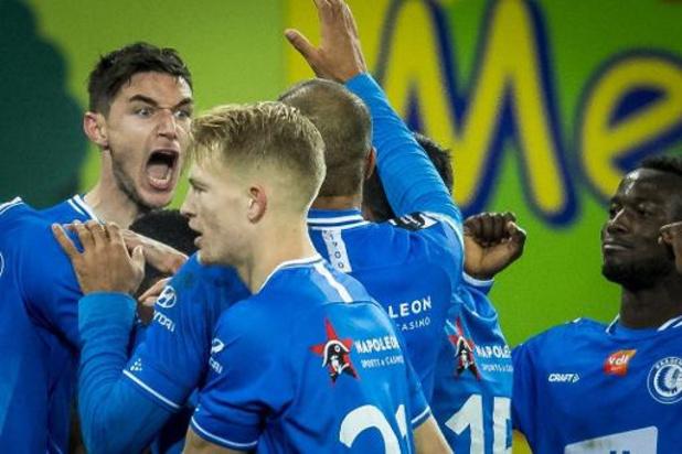 Jupiler Pro League - La Gantoise renverse le Standard et offre un premier succès à Hein Vanhaezebrouck