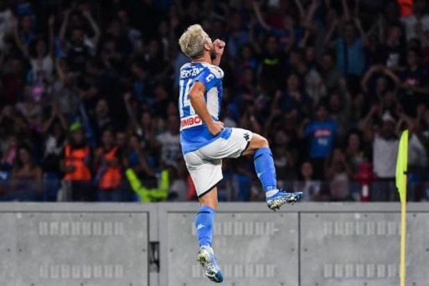 Les Belges à l'étranger - Dries Mertens égale le nombre de buts de Maradona avec Naples