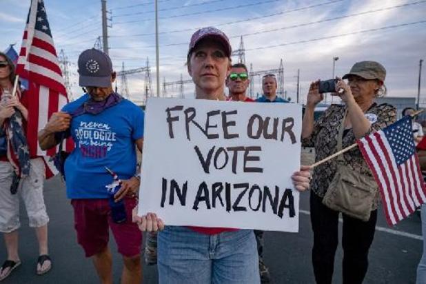 Tegenvaller voor Trump: onderzoek bevestigt nederlaag in Arizona