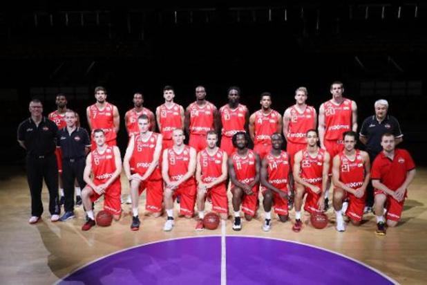 FIBA Europe Cup (m) - Charleroi verliest opnieuw en is uitgeschakeld