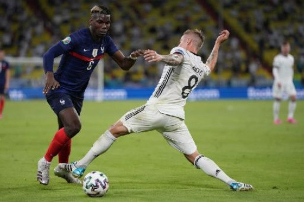 "EK 2020 - UEFA verkiest Paul Pogba tot Man van de Match: ""Iedereen heeft z'n job gedaan vandaag"""