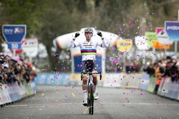 Mathieu Van der Poel élu cycliste néerlandais de l'année