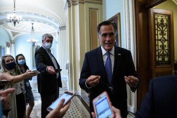 Senator Romney roept Trump op retoriek te milderen
