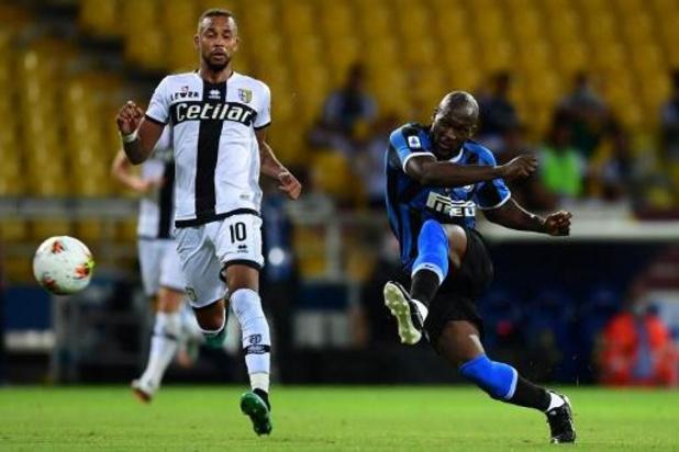 Belgen in het buitenland - Inter pakt in slotfase volle buit bij Parma