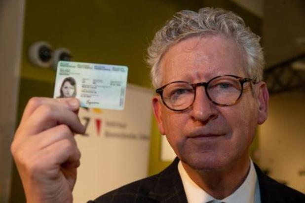 In alle gemeenten vingerafdruk op identiteitskaart