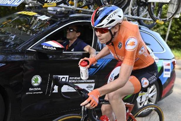 Mondiaux de cyclisme - Anna van der Breggen a eu la chair de poule pendant sa dernière course