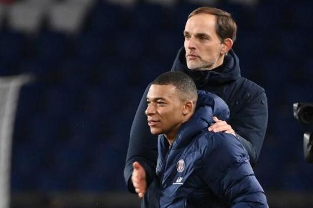 Kylian Mbappé bedankt coach Tuchel alvast
