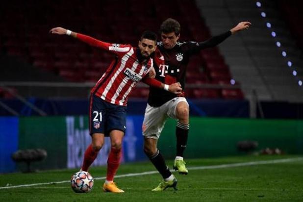 Yannick Carrasco (Atletico Madrid) blessé au genou