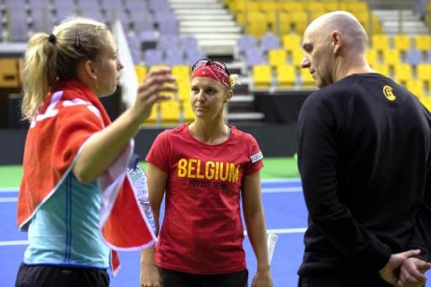 Fed Cup-kapitein Van Herck selecteert Mertens, Flipkens, Bonaventure en Minnen voor Kazachstan