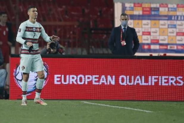 Kwal. WK 2022 - Portugal geraakt niet verder dan gelijkspel in Servië, Luxemburg pakt de zege in Ierland