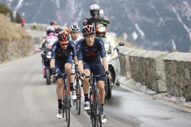 Les coureurs menaçaient de ne pas prendre le départ, la 19e étape du Giro réduite à 150 km