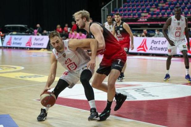 Euromillions Basket League - Anvers se fait peur mais s'impose face à Charleroi