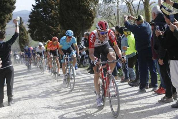 Les Strade Bianche relancent la saison World Tour