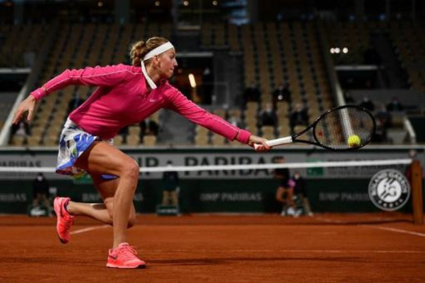 Petra Kvitova se qualifie pour le 2e tour de Roland-Garros
