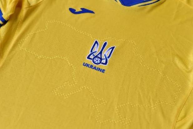 Ophef om EK-shirts van Oekraïne en Noord-Macedonië