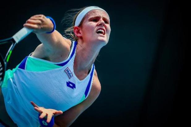 Australian Open - Greet Minnen plaatst zich voor tweede kwalificatieronde
