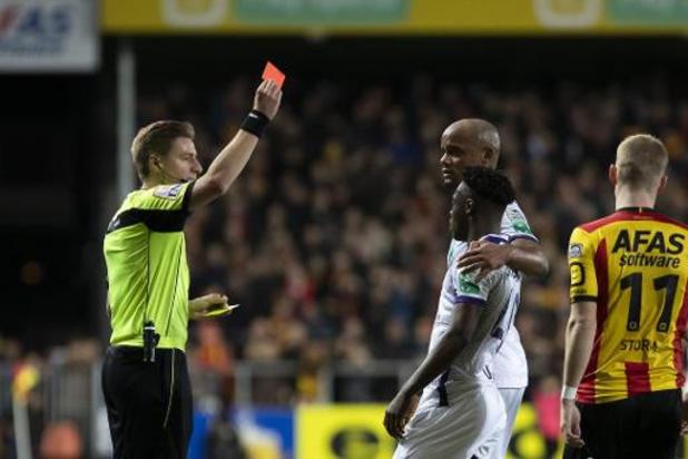 Jupiler Pro League - KV Mechelen houdt na 2-0 zege tegen RSC Anderlecht uitzicht op Play-off I