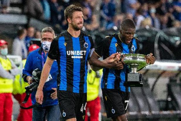 Supercoupe de Belgique - Le Club Bruges remporte sa 16e Supercoupe de Belgique en battant Genk 3-2