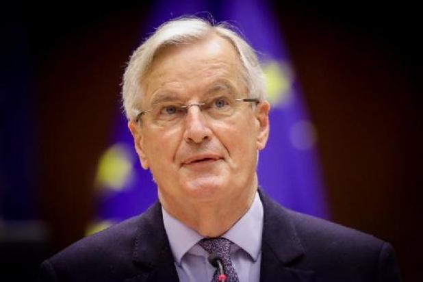 Brexit-onderhandelaar Michel Barnier stelt 'Geheim dagboek' voor