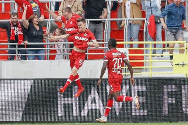 Jupiler Pro League - L'Antwerp arrache la victoire en fin de rencontre face à Seraing