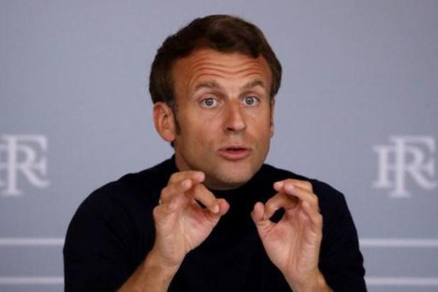 Macron kondigt dinsdag steunplan voor autosector aan