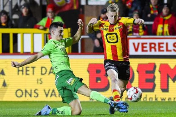 Jupiler Pro League - Malines, vainqueur contre Ostende 1-0, met fin à une série de quatre matches sans victoire