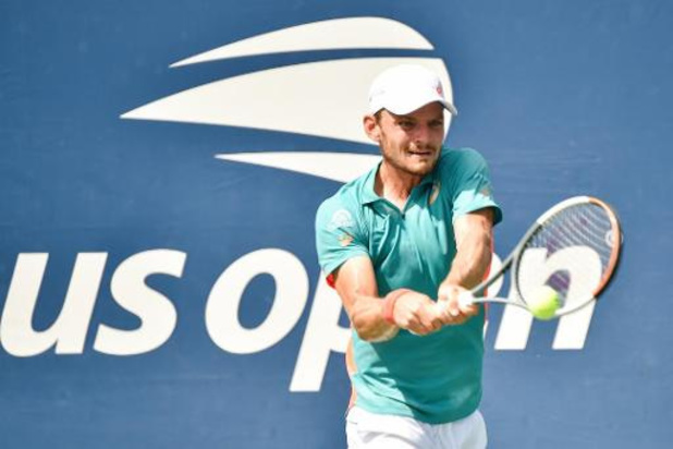 """US Open - Goffin na vlotte zege tegen Krajinovic : """"Erg blij met de manier waarop ik gespeeld heb"""""""