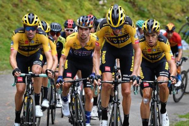 """Tour de France - Wout van Aert en démonstration au Port de Balès : """"Toujours bien placés"""""""