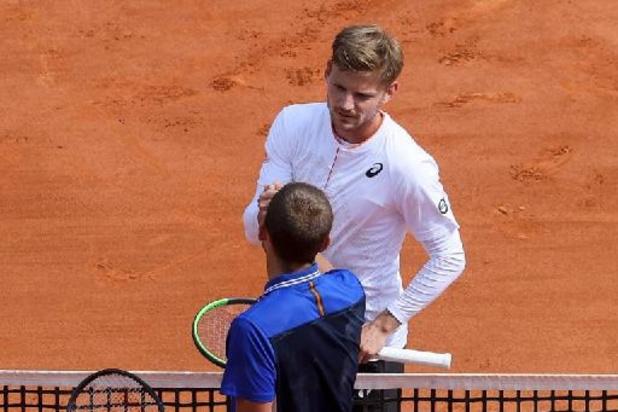 ATP Rome - David Goffin bon pour le service et au programme dimanche