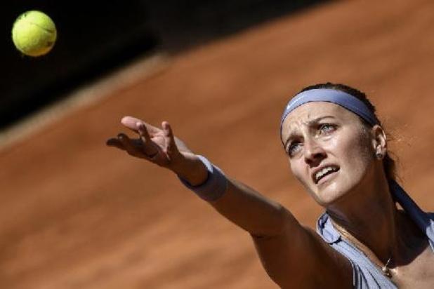 "Kvitova, qui retrouve Minnen en Grand Chelem : ""Ce sera important de la faire courir"""