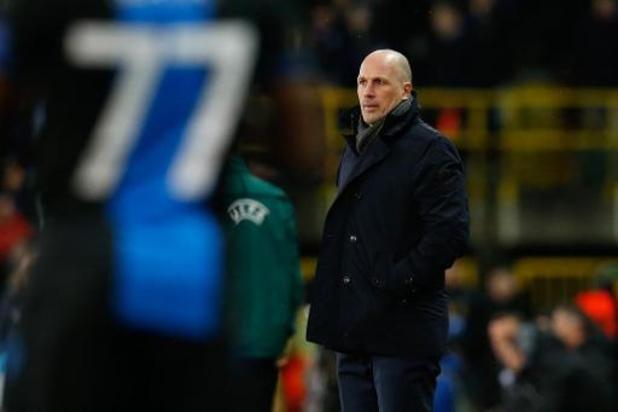 Europa League - Le Club Bruges a 30% de chances de se qualifier, selon Philippe Clement