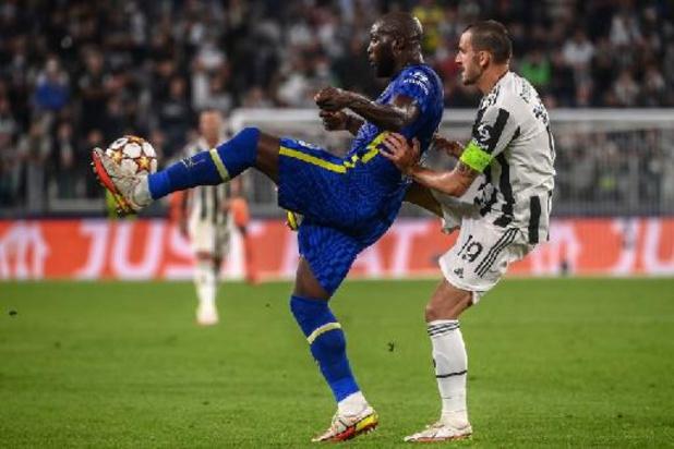 Champions League - Chelsea van Lukaku onderuit bij Juventus, Benfica van Vertonghen wint makkelijk van Barça